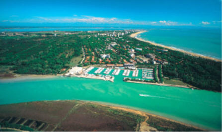 Agency with apartments in Lignano